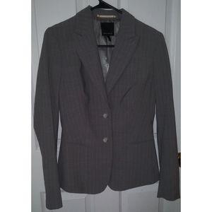 The limited gray & pink pinstripe blazer size 6